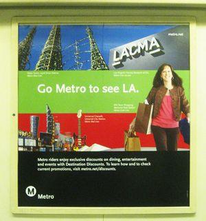 Go Metro to LACMA