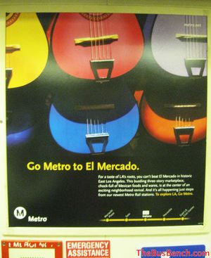Go Metro to El Mercado
